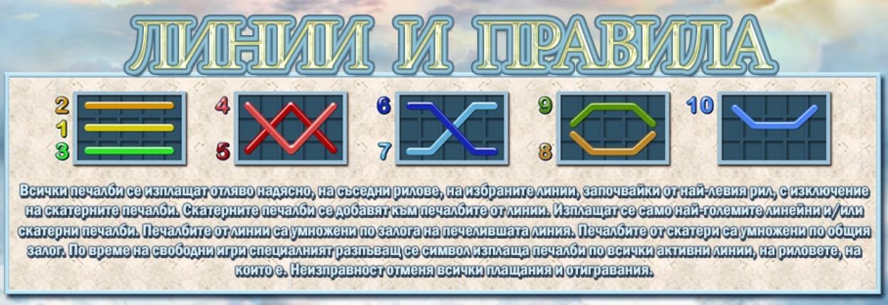 olympus glory linii pravila