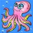 Ocean Rush Simvoli oktopod