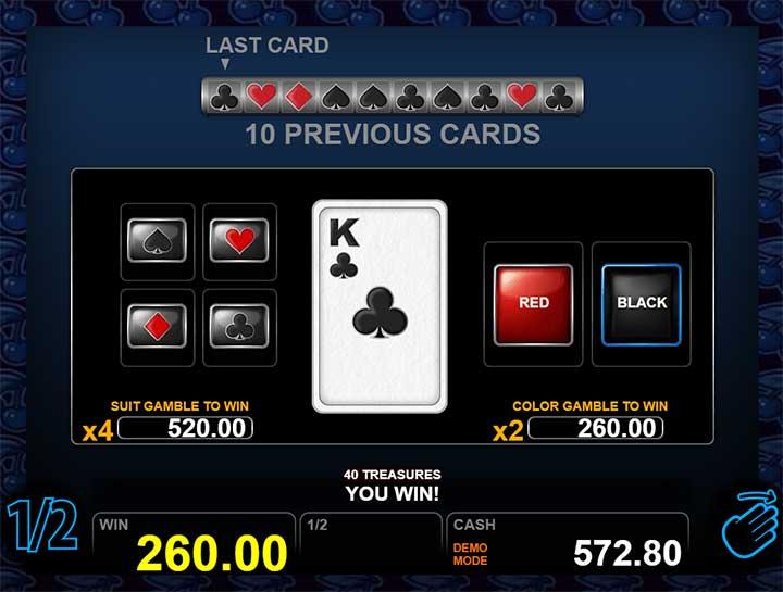 40 Treasures Gamble