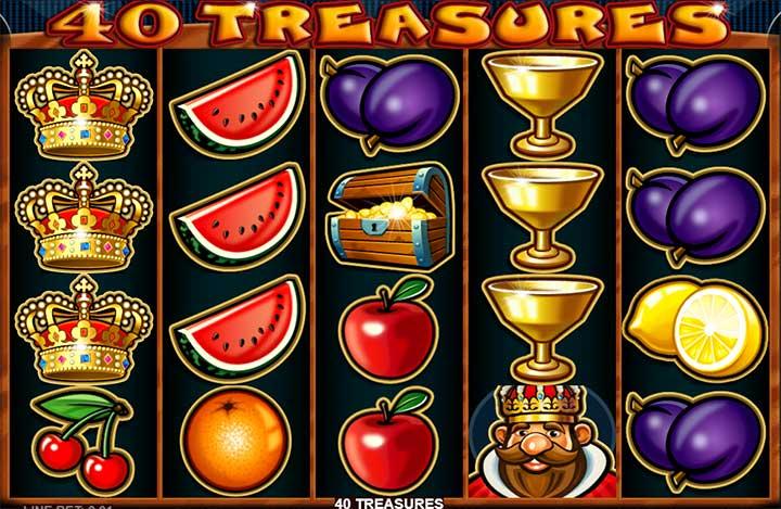 40 Treasures Sumbol Design