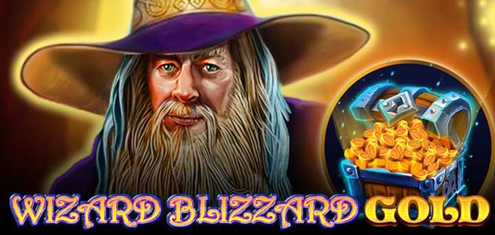 Wizard Blizzard Gold Design