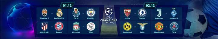 Aplay Casino Champions League Bonus