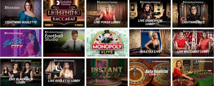 Aplay Casino Live Games