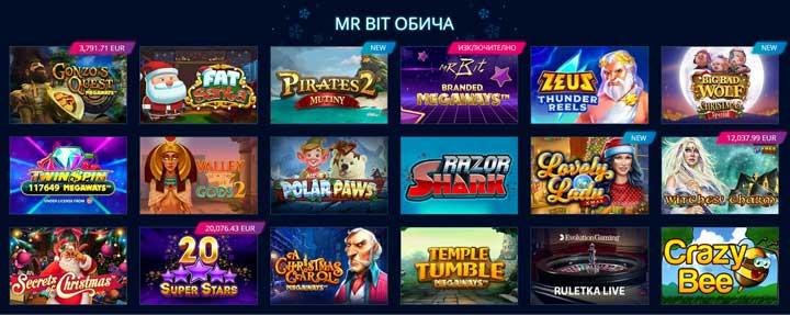 Mr Bit Casino Obicha