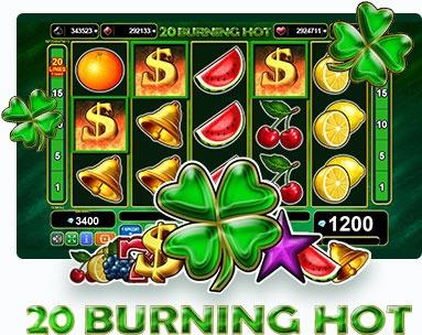Безплатни казино игри с 20 линии - 20 Burning Hot