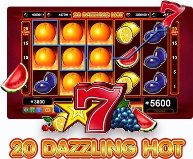 Безплатни казино игри с 20 линии - 20 Dazzling Hot