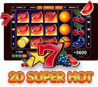 Безплатни казино игри с 20 линии - 20 Super Hot