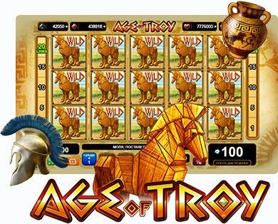 Безплатни казино игри с 20 линии - Age of Troy