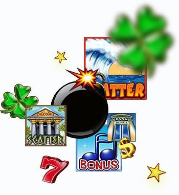 Безплатни казино игри с 20 линии - Бонуси