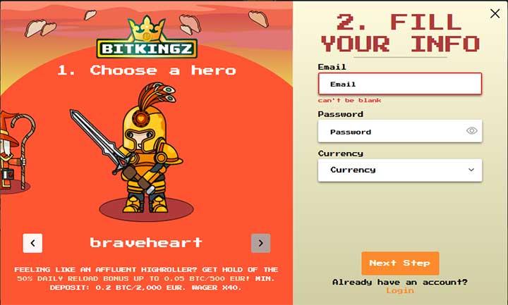 BitKingz Hero