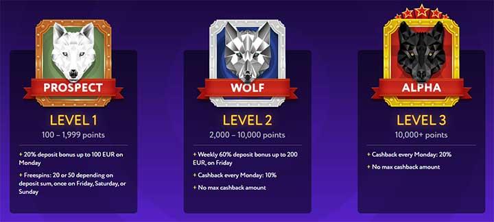 Slot Wolf Vip
