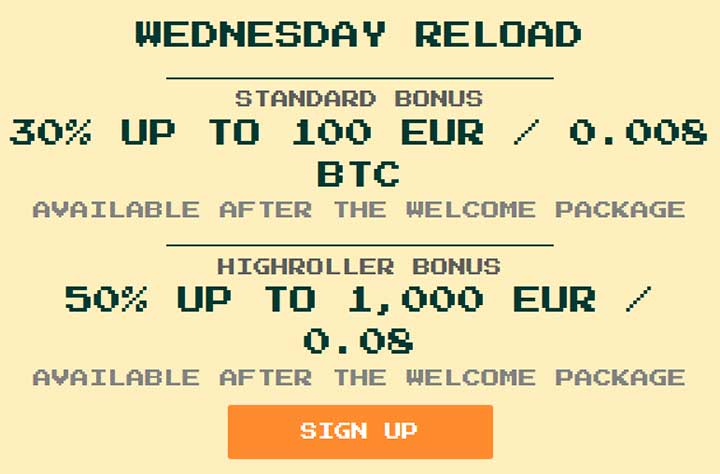 Wednesday Reload