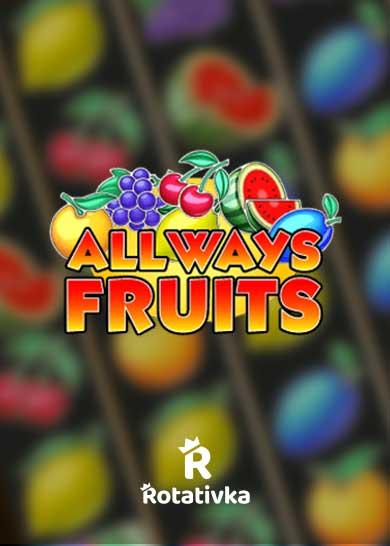 All Ways Fruits Bezplatna Igra