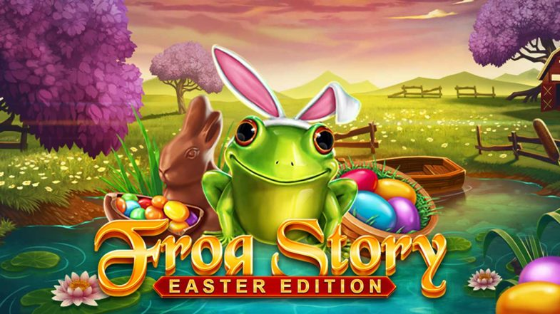 Frog Story Easter Edition