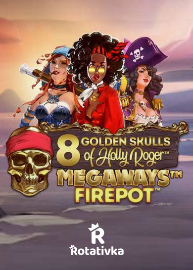 8 Golden Skulls of Holly Roger